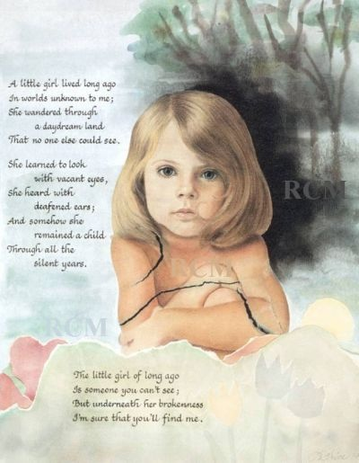 I used to have this picture in my therapy office.... Such a sweet reminder of the importance of helping children.