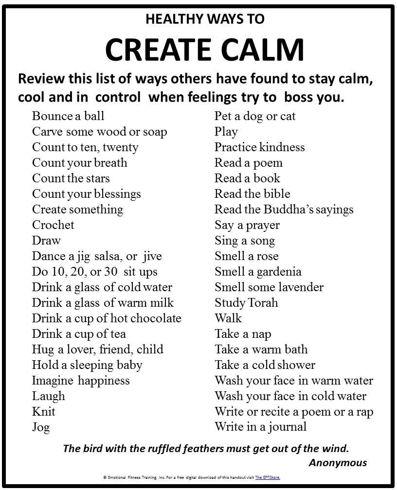 Create Calm