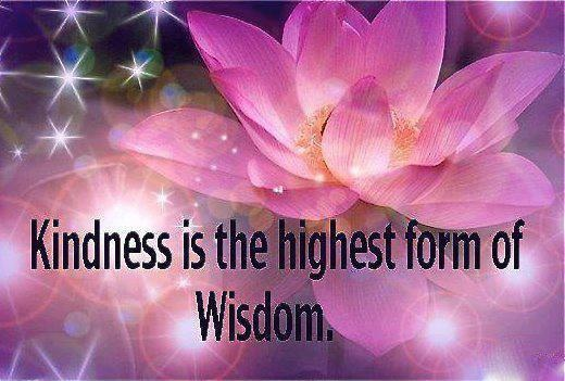 Kindness is Wisdom