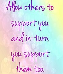Support for Yourself and Others
