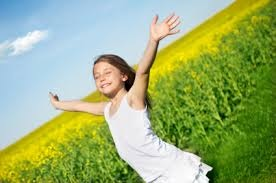 It's beautiful when a child can experience freedom and safety, and joy, and happiness.....