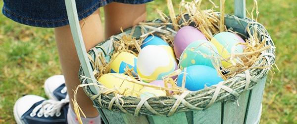 Basket of Easter Eggs