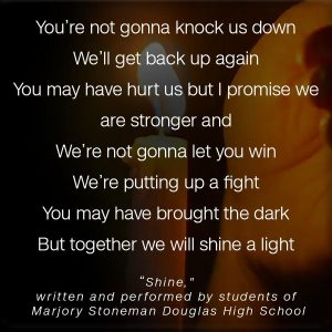 Inspiration for DID Trauma Survivors from the Students of Stoneman Douglas High School