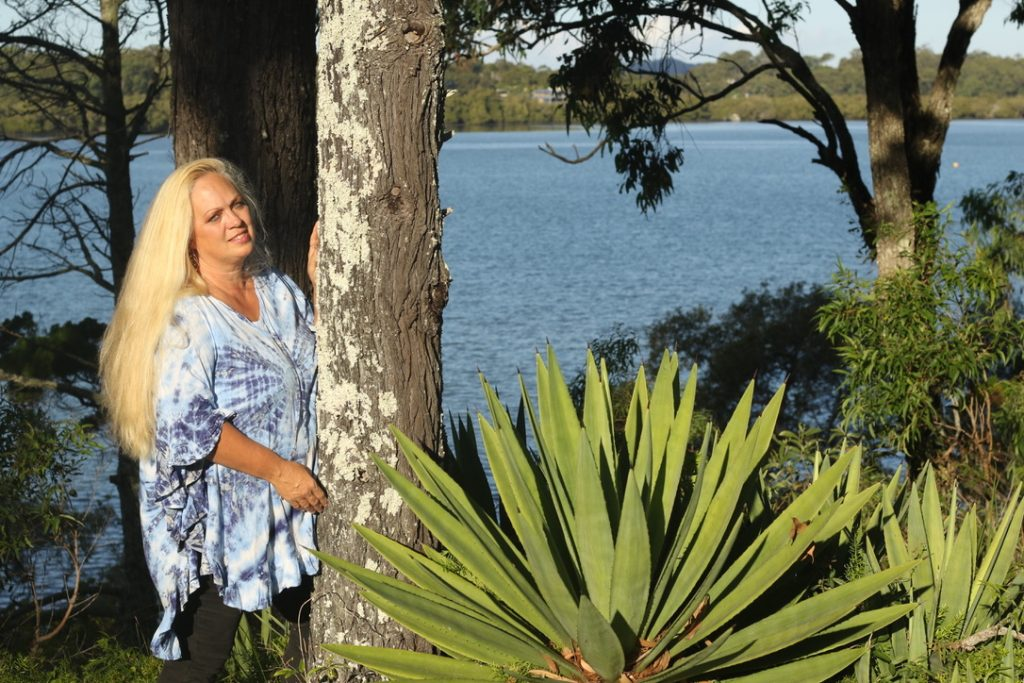 Kathy Broady in Australia