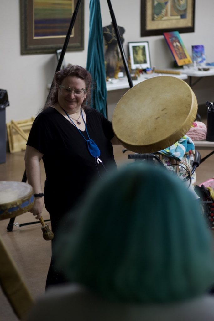 drumming at P4 DID Conference