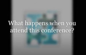 What happens when you attend the P4 DID Conference?